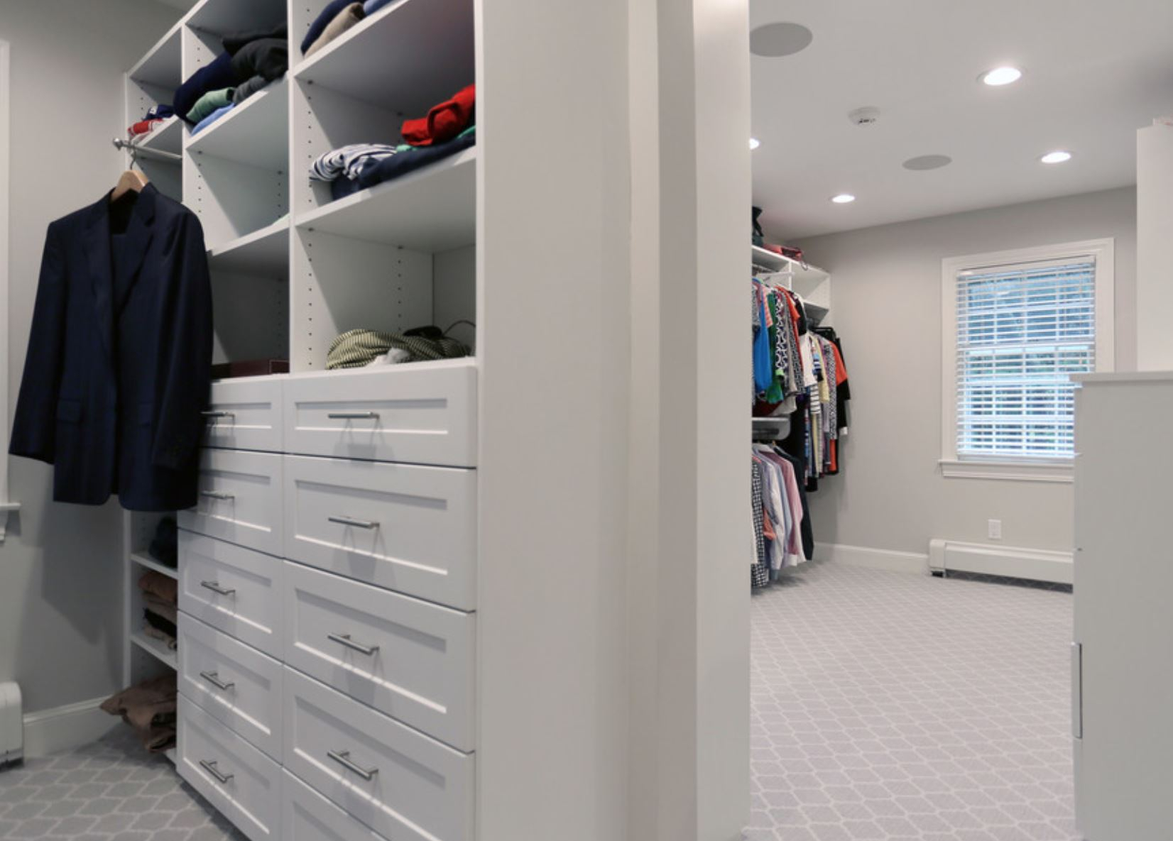 weston bedroom closet